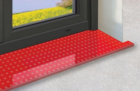 Fensterbänke aus Glas EXPOWIN